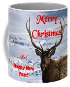 An Elk Christmas Coffee Mug