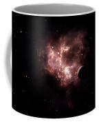 An Emission Nebula Is Viewed From Neaby Coffee Mug