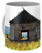 An Empty Barn  Coffee Mug