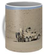 An Eod Cougar Mrap In A Wadi Coffee Mug