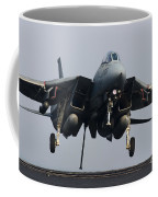 An F-14d Tomcat Comes In For An Coffee Mug