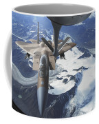 An F-15c Eagle Aircraft Sits Coffee Mug by Stocktrek Images