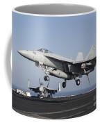 An Fa-18e Super Hornet Prepares Coffee Mug