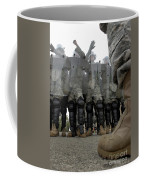 An Instructor Stands Face-to-face Coffee Mug by Stocktrek Images