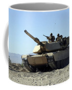 An M1a1 Main Battle Tank Coffee Mug