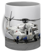 An Mh-53e Super Stallion Helicopter Coffee Mug by Stocktrek Images