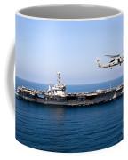 An Mh-60r Sea Hawk Flies Coffee Mug