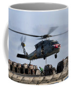 An Mh-60s Sea Hawk Lifts Cargo Coffee Mug