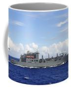 An Mh-60s Sea Hawk Prepares To Drop Coffee Mug