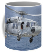 An Mh-60s Sea Hawk Search And Rescue Coffee Mug