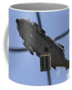 An Mh-60s Seahawk Helicopter Airlifts Coffee Mug