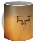 An Mv-22 Osprey Aircraft Blows Dust Coffee Mug