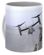 An Mv-22b Osprey Takes Coffee Mug