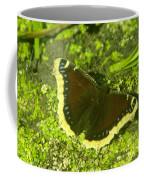 An October Butterfly  Coffee Mug