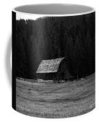 An Old Barn In Black And White Coffee Mug