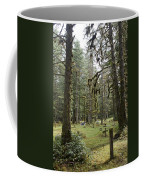 An Old Cemetary In A Forest Coffee Mug by Taylor S. Kennedy