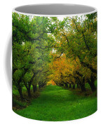 An Orchard Row  Coffee Mug
