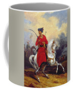 An Ottoman On Horseback Coffee Mug