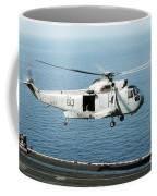 An Sh-3h Sea King Helicopter Prepares Coffee Mug