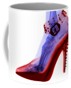 An X-ray Of A Foot In A High Heel Shoe Coffee Mug