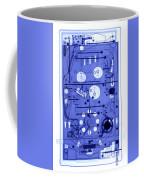 An X-ray Of A Pinball Machine Coffee Mug