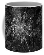Anatomy Of A Flower Monochrome 2 Coffee Mug