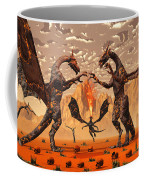 Ancient Lava Dragons Born Of Fire Coffee Mug
