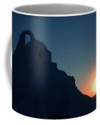 Ancient Old Chapel Mykonos Island Sunset   Greece  Coffee Mug
