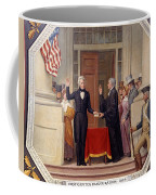 Andrew Jackson At The First Capitol Inauguration - C 1829 Coffee Mug
