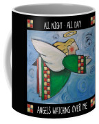 Angel Flight Poster Coffee Mug