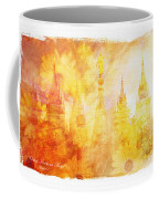 Angel Golden Coffee Mug by La Rae  Roberts