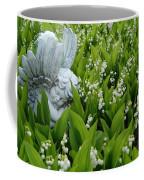 Angel In The Lilies Coffee Mug