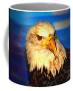 Angel The Bald Eagle Coffee Mug