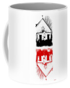 Angels And Demons Coffee Mug by Luke Moore