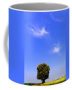 Angels Watching Over Tree Coffee Mug