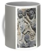 Angels With Grapes Coffee Mug by Joana Kruse