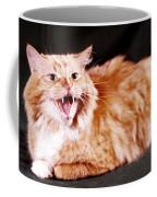 Angry Orange Tabby Coffee Mug