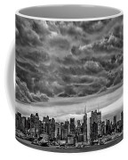 Angry Skies Over Nyc Coffee Mug