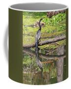 Anhinga And Reflection Coffee Mug