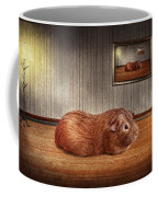 Animal - The Guinea Pig Coffee Mug by Mike Savad