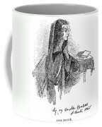 Anne Bront� (1820-1849) Coffee Mug by Granger