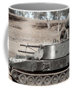 Anti-aircraft Guns Mounted On An M109 Coffee Mug