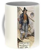 Anti-immigrant Cartoon Coffee Mug
