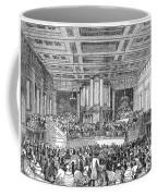 Anti-slavery Meeting, 1842 Coffee Mug by Granger