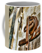 Antique - Door Rail - Rusty Coffee Mug