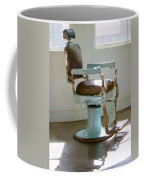 Antique Barber Chair Coffee Mug