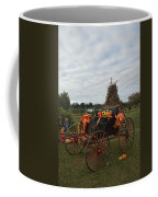 Antique Buggy In Fall Colors Coffee Mug