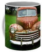 Antique Ford Car 8 Coffee Mug