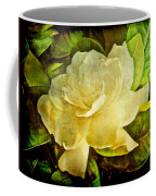 Antique Gardenia Blossom Coffee Mug