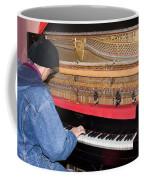 Antique Playtone Piano Coffee Mug